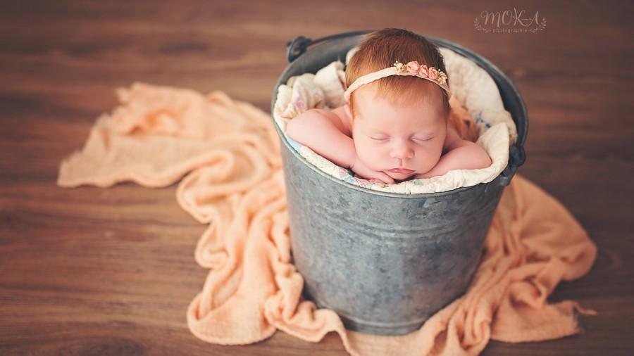 Seance photo bébé : Anna, 1 mois